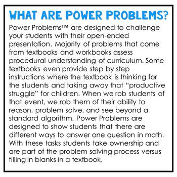 5th Grade Math Rigorous Word Problems Algebraic Thinking Standards 5.OA