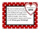 5th Grade Math Rotation Stations (Multiplication) Valentine's Day
