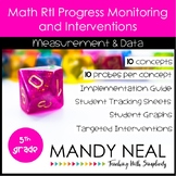 5th Grade Math RtI Assessments & Intervention Binder MD Bundle