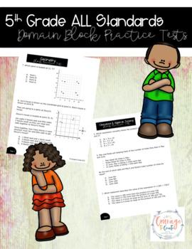 5th Grade Math SBA Practice Test