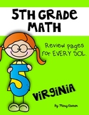 5th Grade Math SOL Workbook