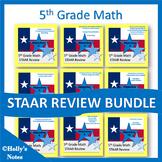 5th Grade Math STAAR Bundle