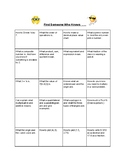 """5th Grade Math STAAR """"Find Someone Who Knows"""" Review Activity"""