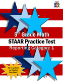 5th Grade Math STAAR Practice Test - Reporting Category 1