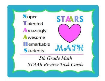 Mixed Math Review (old 5th grade TEKS)