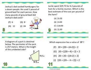 5th Grade Math STAAR Review 2015