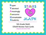 5th Grade Math STAAR Review 2015