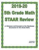 2018 Update- 5th Grade Math STAAR Review