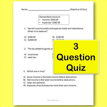 5th Grade Math STAAR Review - Objective 10