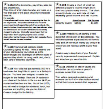 5th Grade Math STAAR Journal, Prompts and Activities for All TEKS!