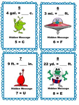 5th Grade Math Scavenger Hunt: Customary Measurement Conversions: 5.MD.1