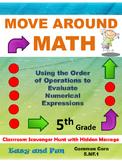 Grade 5 Order of Operations Common Core Math Scavenger Hunt