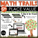 5th Grade Fall Math Scavenger Hunt   Place Value Read Writ