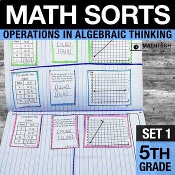 5th Grade Math Sorts - Set 1