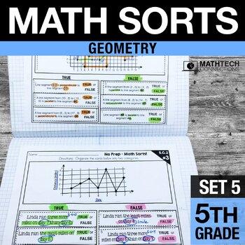 5th Grade Math Sorts - Set 5 Geometry