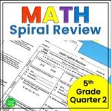 5th Grade Math Spiral Review 2