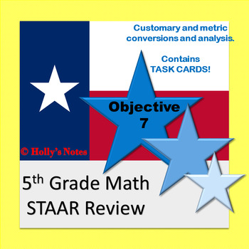 5th Grade Math STAAR Review - Objective 7