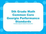 5th Grade Math Standards-CCGPS