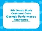 5th Grade Math Standards-CCGPS