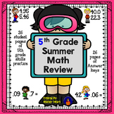 5th Grade Math Summer Review Packet