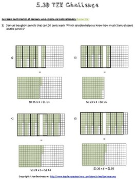 5th Grade Math STAAR TEK Challenge