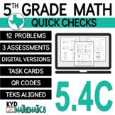 TEKS 5.4C - 5th Grade Math - Numerical Patterns - Digital & Print