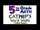 5th Grade Math TEKS Flash Cards