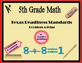 5th Grade Math (TX Readiness Standards) Practice Questions