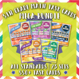 5th Grade Math Task Cards MEGA Bundle {Common-Core Aligned}