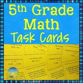 5th Grade Math Task Cards