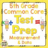 5th Grade Math Test Prep: Measurement and Data