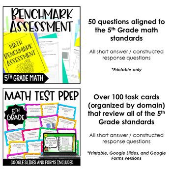 5th Grade Math Test Prep Mega Bundle