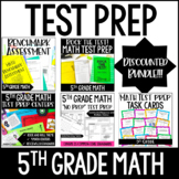 5th Grade Math Test Prep MEGA Bundle w/ Digital Test Prep Activities
