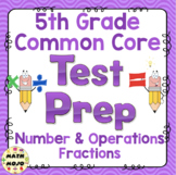 5th Grade Math Test Prep: Number and Operations - Fractions