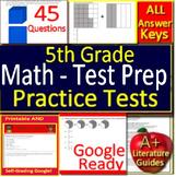 5th Grade Test Prep Math Practice Tests Smarter Balanced, PARCC, CAASPP