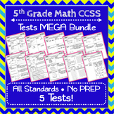 5th Grade Math Tests ⭐ Common-Core Aligned Assessments