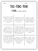 5th Grade Math Tic-Tac-Toe