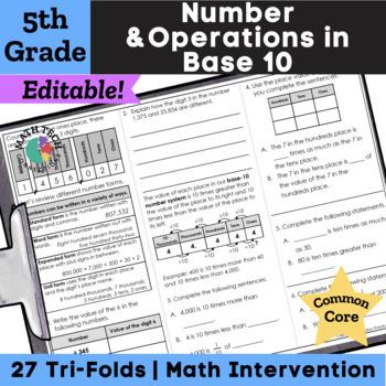 5th Grade Exponents, Decimals, Multiply & Divide