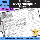 5th Grade Place Value, Decimals, Multi-Digit Multiplication & Division