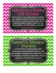 5th Grade Math Tub Labels (with Common Core Standards) - C
