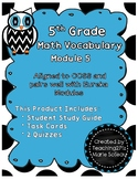 5th Grade Math Vocabulary-- Module 5