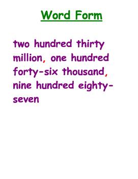 5th Grade Math Vocabulary Posters
