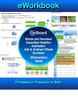 5th Grade Math Volume 1