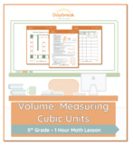5th Grade Math | Volume: Measuring Cubic Units