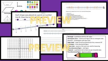 5th Grade Math Volume and Area   Module 5 PDF AND PPT
