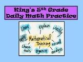 5th Grade Daily Math