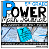5th Grade Math Word Problems | Test Prep | Spiral Review | Morning Work