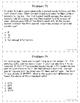 5th Grade Math Word Problems Set 5