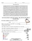 5th Grade Math Word Search
