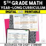 5th Grade Math Year-Long Curriculum Bundle {Digital & Printable}